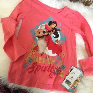 NWT Disney Shirt, girls size 5